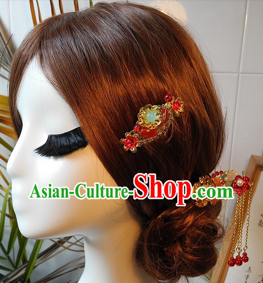 Handmade Traditional Chinese Wedding Hairstyles