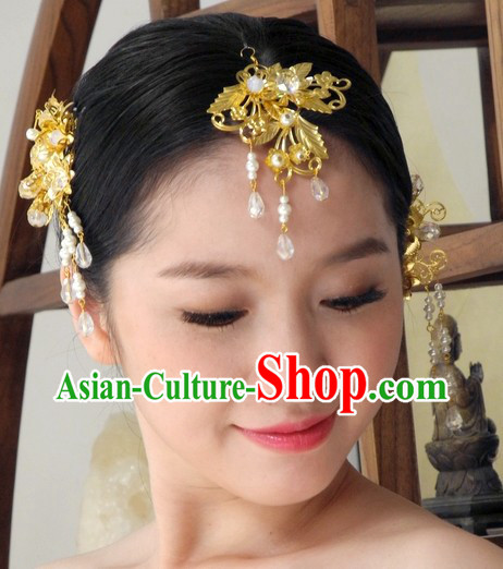 Handmade Traditional Chinese Bridal Wedding Jewelry