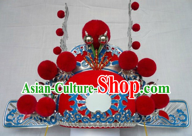 Traditional Chinese Opera Bridegroom Schollar Helmet