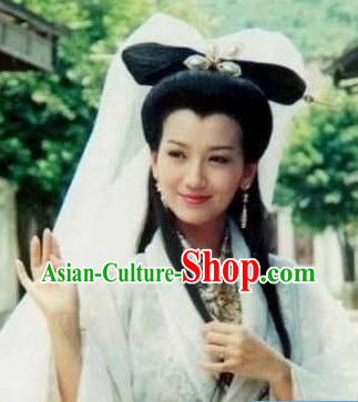 Ancient Traditional Long Chinese Female Wig