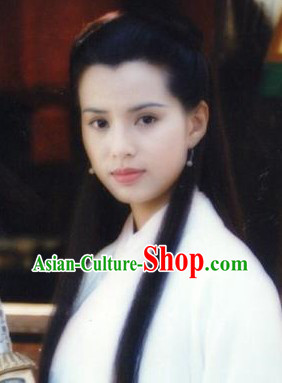 Ancient Traditional Long Chinese Xiao Long Nv Wig