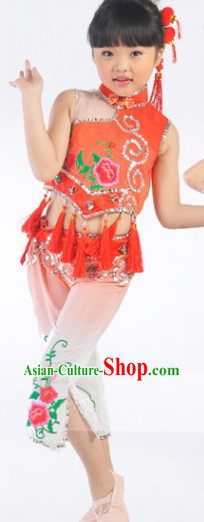 Asian Dance Costumes for Kids