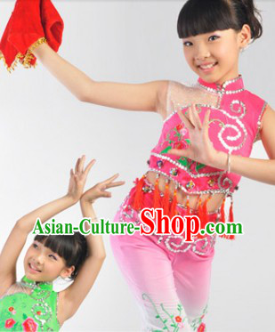 Asian Dance Costume for Kids