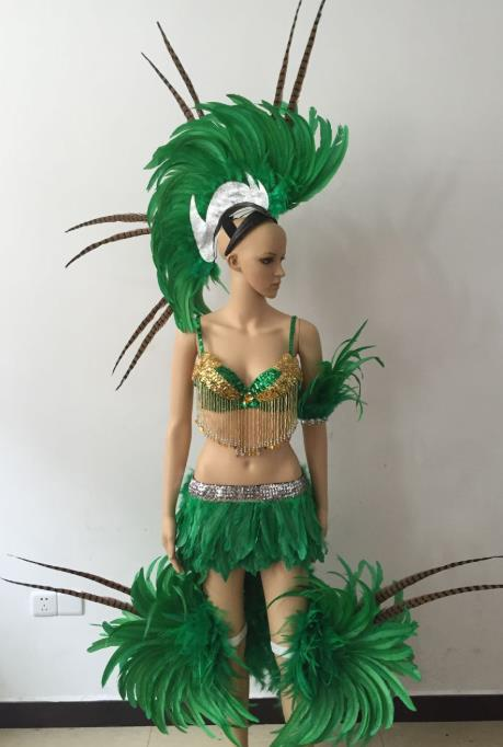 Mexico National Costume and Headwear Complete Set for Women