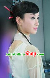 Traditional Handmade Asian Dance Wig for Women