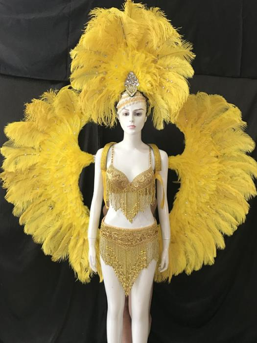Colombia National Costume and Headwear Complete Set for Women