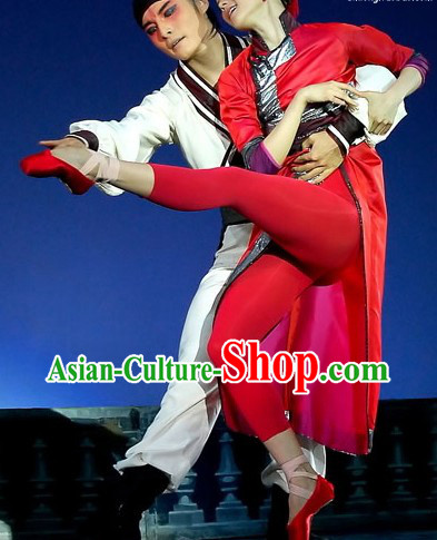 Classic Dancing Costumes Two Complete Sets for Men and Women