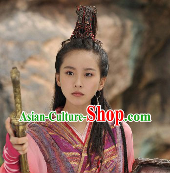Handmade Ancient Chinese Minority Princess Hair Accessories