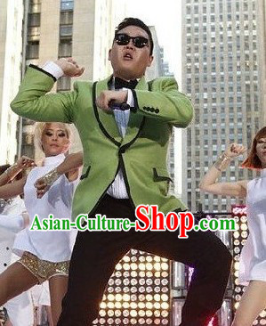 Korean PSY Gangnam Style Horse Dance Costume for Men