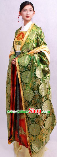Chinese Traditional Costume Hanfu Complete Set for Women