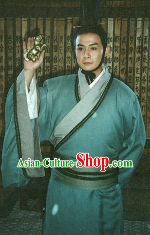 Han Dynasty Chinese Traditional Costume for Men
