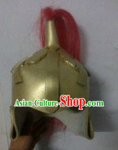 Chinese Stage Performance Archaize General Helmet