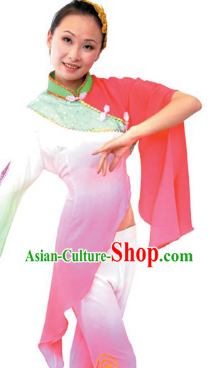 Chinese Classical Yangge Dance Costumes for Women