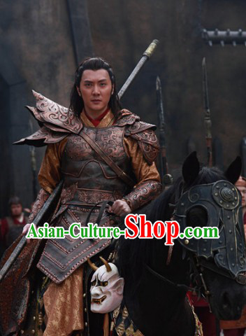 Lanling Wang Ancient General Armor Costumes for Men