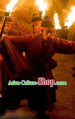 Ancient Chinese Servant Costumes for Men
