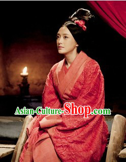 Ancient Chinese Han Dynasty Female Clothing for Women