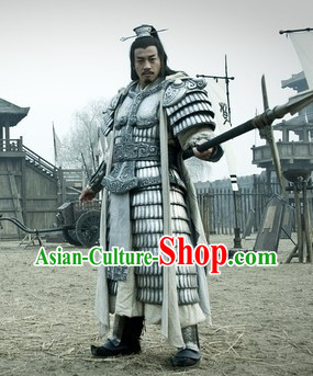 Han Dynasty China Xiang Yu Armor Clothing for Men