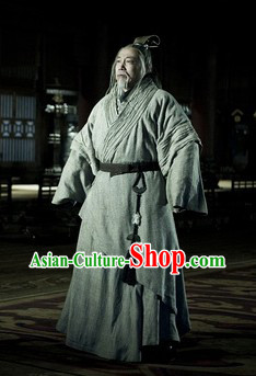 Han Dynasty China Elder Hanfu Clothing for Men