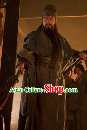 Three Kingdoms Guan Yu Gwan Gong Clothing for Men