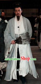 Three Kingdoms Wise Men Zhuge Liang Clothing and Feather Fan