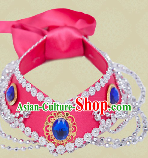 Handmade Traditional Mongolian Headdress for Women