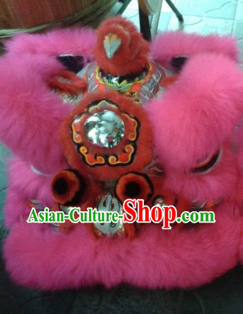 Traditional Chinese Hok San Lion Dance Clothes Complete Set