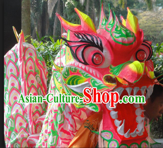 Charity Use Friendly Lumious Dragon Dance Costume for 9-10 Adult