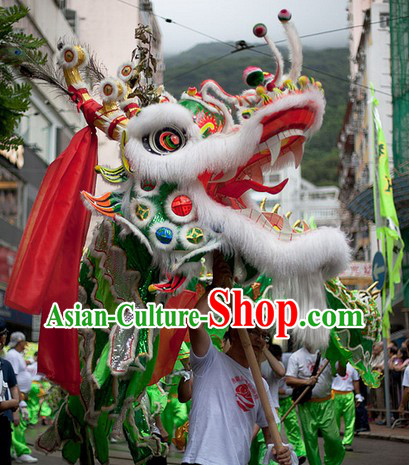 Handmade Big Dragon Dance Costume Complete Set