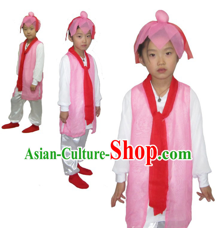 Ancient Chinese Stage Performance Student Costumes for Children
