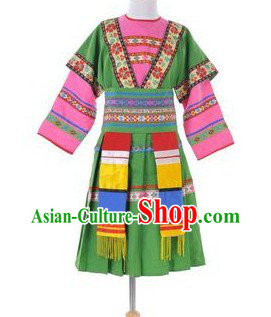 Chinese Minority Clothing for Kids