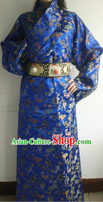 Traditional Chinese Tibetan Wedding Dress for Brides