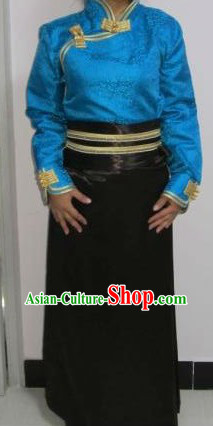 Traditional Chinese Tibetan Clothes for Women