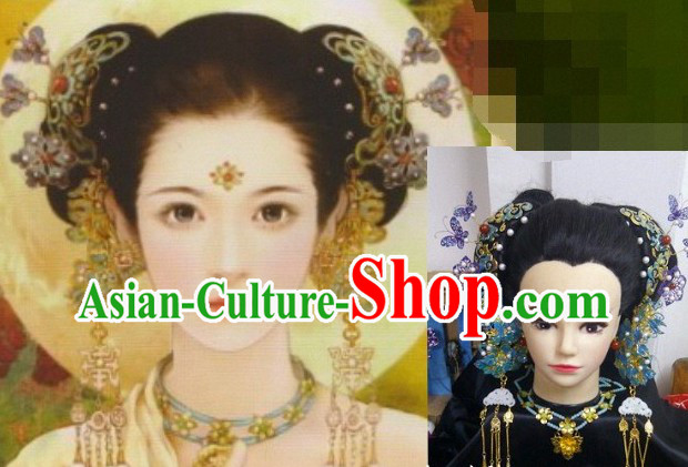 Ancient Beauty Handmade Wig and Hair Accessories for Girls