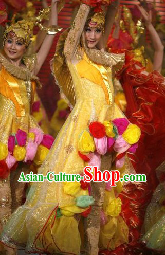 Chinese Entree Dance Costume for Women