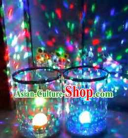 Multi-color LED Lights Sound Control Stage Performance Drum