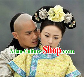 Qing Dynasty Empress Hair Accessories Set for Women