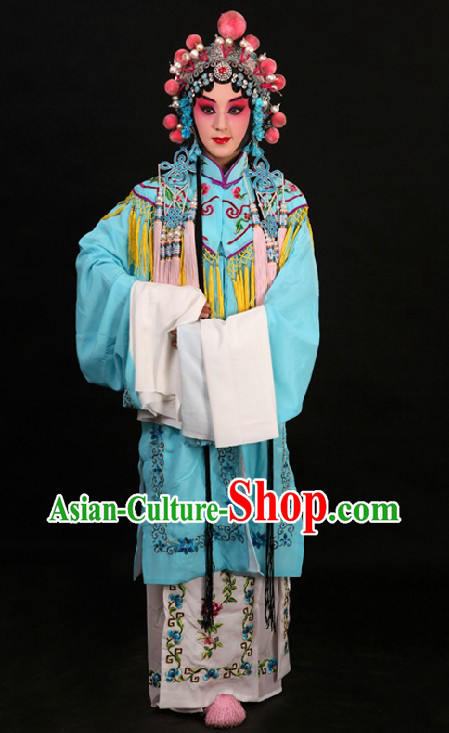 Traditional China Beijing Opera Hua Dan Palace Lady Costumes for Women