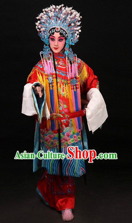 Chinese Embroidered Phoenix Wedding Dress for Women