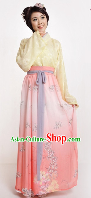 Chinese Traditional Clothing for Girls