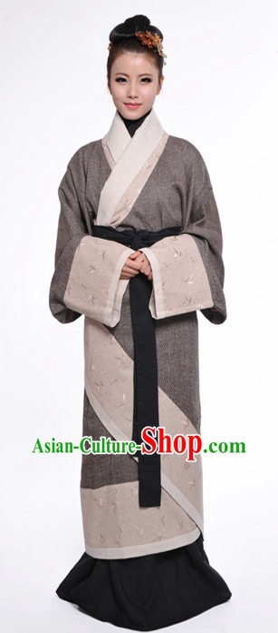 Ancient Chinese Han Dynasty Dresses for Women