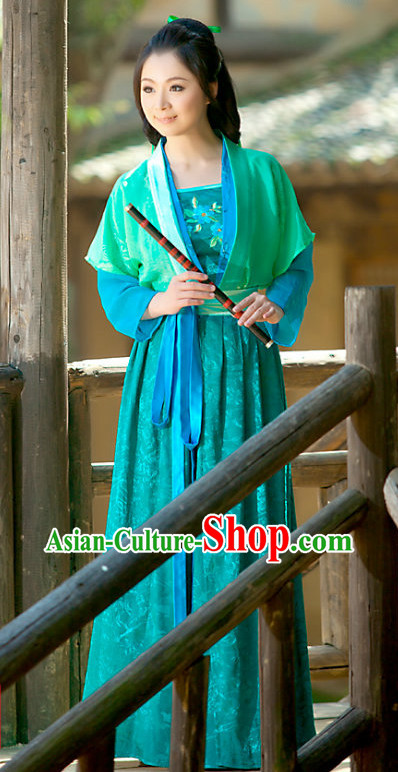 Ancient Chinese Song Dynasty Guzhuang Clothing for Women