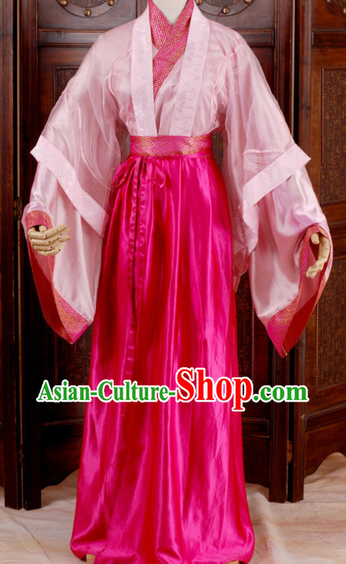 Ancient Chinese Han Fu Clothing for Women