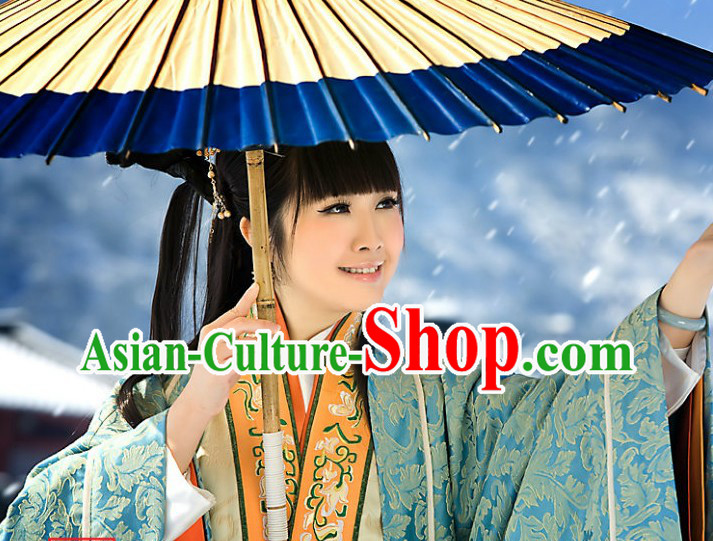 Ancient Chinese Han Dynasty Empress Clothing for Women
