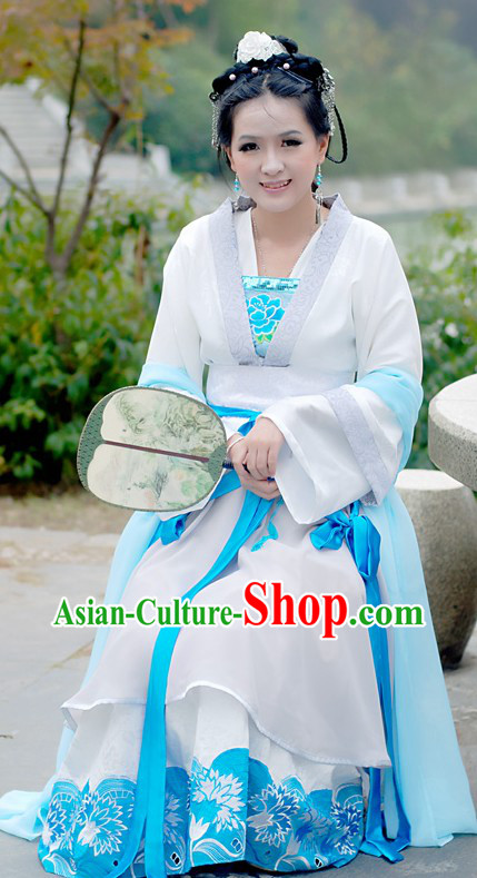 Traditional Chinese Gu Zhuang Clothing for Women