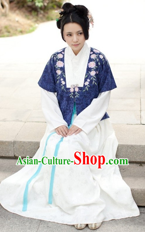 Traditional Chinese Han Dynasty Spring Clothes for Women