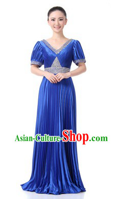 Traditional Blue Chorus Dresses for Women