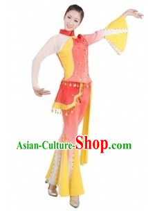 Traditional Chinese Female Folk Clothing