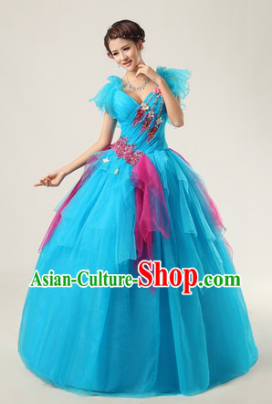 Chinese Modern Solo Competition Dress for Women