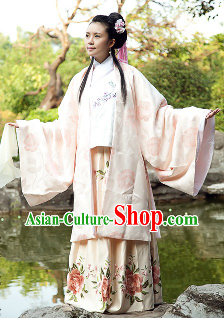 Ancient Chinese Ming Dynasty Clothes for Women