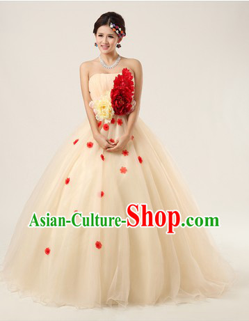Chinese Modern Singer Solo Costumes for Women